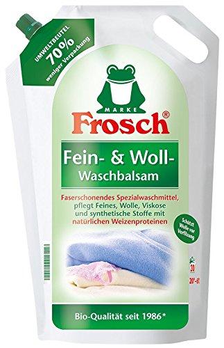 Frosch Fein- & Woll-Waschbalsam 18 WL (5 x 1,8 Liter Beutel)