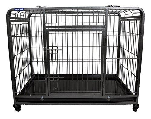 The Pet Store Premium Hundebox mit feststellbaren, abnehmbaren Nylon-Rädern, Größe M