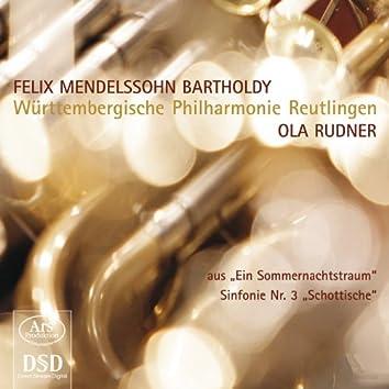 """Mendelssohn: Ein Sommernachtstraum & Sinfonie Nr. 3, Op. 56, """"Schottische"""""""