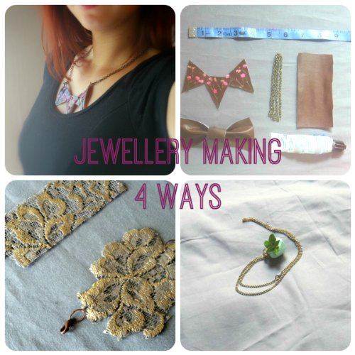 Jewelry Making Four Ways: Four Unique projects for jewelery makers, new crafters, and craft parties. (English Edition)