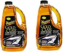 Meguiars G7164 Gold Class Car Wash Shampoo & Conditioner HFSRQ, 2Units (Car Wash Shampoo & conditioner)