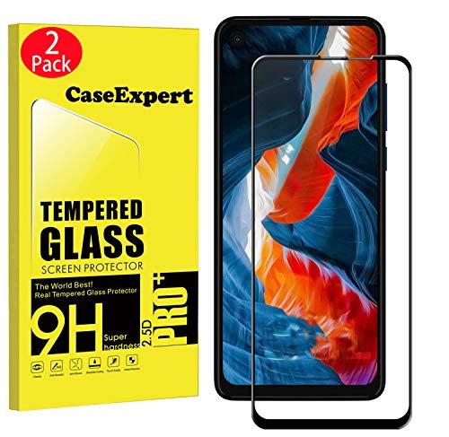 CaseExpert 2 Pack - Motorola One Action Panzerglas, Gehärtetem Schutzfolie Glasfolie Hartglas Panzerfolie Displayschutzfolie Für Motorola One Action