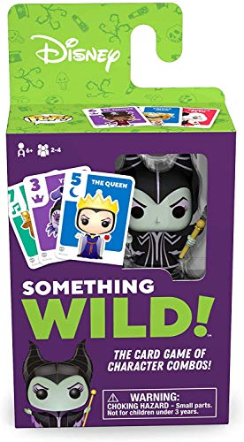 Board Games- Something Wild-Villains Disney Signature Game, Multicolor (Funko 51872)