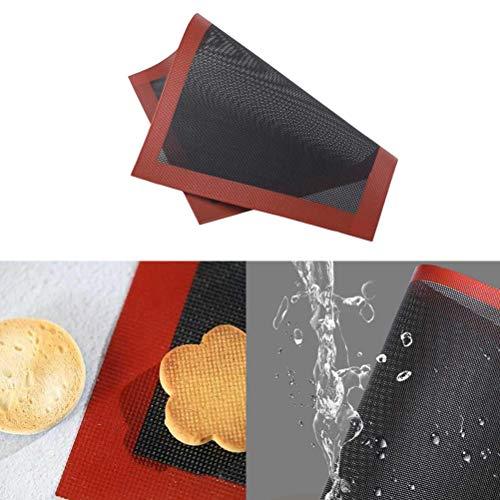 Tappetino da forno NNGT,Tappetino in silicone microforato,Tappetino in silicone antiscivolo,Vassoi da cucina antiaderenti,Biscuit Macarons Pizza cottura Pan Mat per forno a microonde