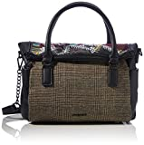 Desigual Accessories PU Hand Bag, Mano Mujer, negro, U