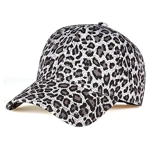 Dingyi Gorra de Beisbol Unisex tamaño 55-59 cm Gorras de béisbol Ajustables con Estampado de Leopardo para Las Ventas Hombre Mujer Gorra de cúpula de Leopardo Sexy Sombrero Regalo
