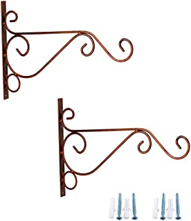 copper hanging basket bracket
