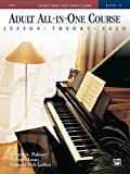 Alfred's Basic Adult All-in-One Course, Book 2: Learn How to Play Piano with Lessons, Theory, and...