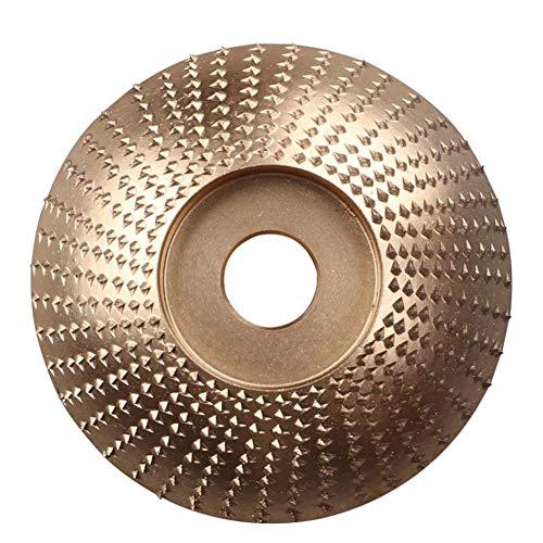 Disco de talla de madera Kit de muela abrasiva Disco de lijado Rotativo Pulido Abrasivo Dureza fuerte Herramientas portátiles de madera 85 mm 3 piezas
