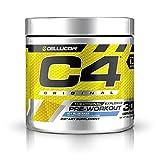 C4 Original Pre Workout Powder ICY Blue Razz - Vitamin...