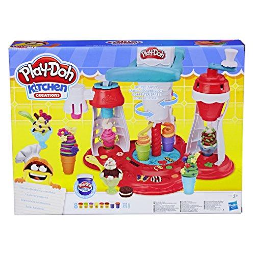 Play-Doh - Super Eiscreme Maschine Knete, für fantasievolles und kreatives Spielen