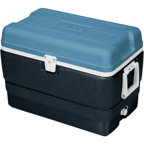 CCA IGLOO Maxcold 50 Coolbox - 2016 Model - Blue - 00049492