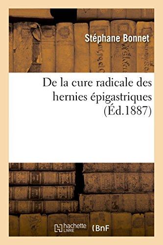 Bonnet-S: La Cure Radicale Des Hernies �pig (Sciences)
