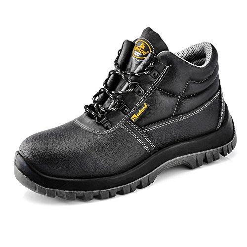 SAFETOE Botas de Seguridad para Hombre Trabajo Impermeable - 8010 Zapatos de...