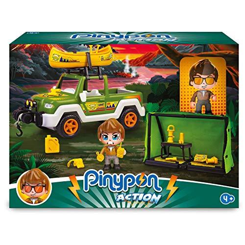 Pinypon Action Wild. Pickup de Rescate para niños y niñas de 4 a 8 años...