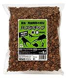 ミタニ 昆虫爬虫類用床材 ハスクチップ5リットル KM-19