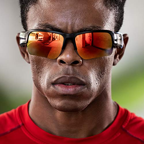 Bose Frames Brillengläser-Kollektion, Modell Tempo in Orange (polarisiert), austauschbare Ersatzgläser