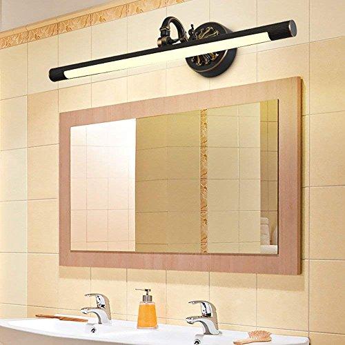 Allamp Casa Baño Espejo Faro Lámpara Espejo LED Integrado Moderno/Contemporáneo Tradicional/Clásico Rústico/Lodge Vintage Antigua Característica de latón para bombilla de luz caliente LED, espej