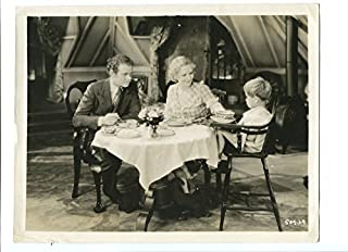 MOVIE PHOTO: PASSION FLOWER-1930-8X10 PROMOTIONAL STILL-KAY JOHNSON-DINNER TABLE WITH F VG