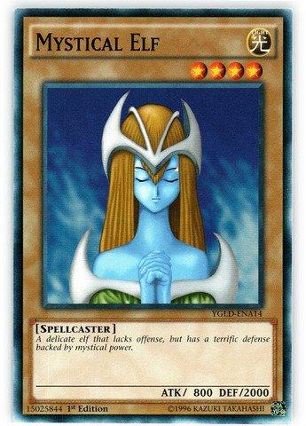 YU-GI-OH! - Mystical Elf (YGLD-ENA14) - Yugi's Legendary Decks - 1st Edition - Common