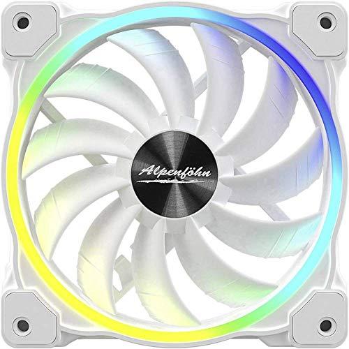 Alpenföhn Wing Boost 3 120x120x25 Gehäuselüfter, weiß, Einzellüfter