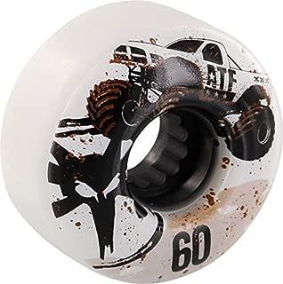 Bones Wheels ATF Mudder Fudder 60mm White Skateboard Wheels (Set of 4)