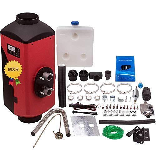 JALAL Pantalla del Calentador Combustible diésel Aire Compatible con el termostato del camión Autocaravana