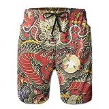 YongColer Men's Swim Trunks Quick Dry Beach Swim Shorts with...