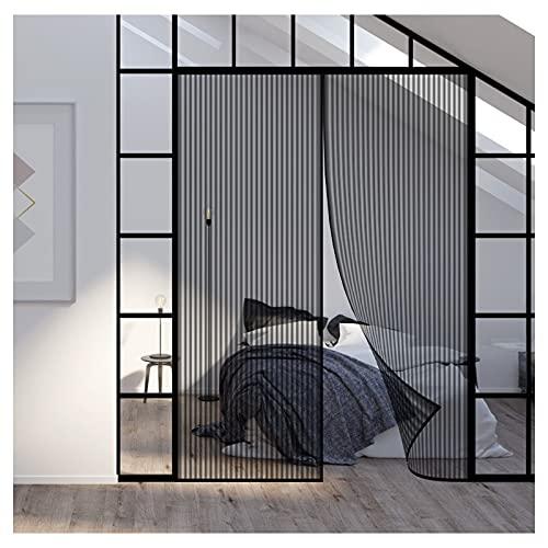 Mosquitera Magnetica para puerta,185x210cm Mosquitera Puerta,Cortina Mosquitera Puerta Magnetica,Fácil de instalar,Cierre Automático
