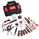 FASTPRO 215-Piece Home Repairing Tool Set with 12-Inch Wide Mouth Open Storage Bag...