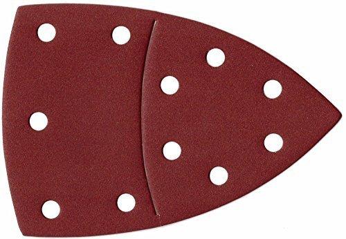 50 Blatt Klett Prio-Schleifpapier für Multischleifer – 105 x 152 mm – Korn 120 / Schleifblätter/Schleifpapier/Schleifscheiben