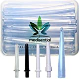 MEDISENTIAL Enema Bucket, Bag & Bulb Kit Nozzle Tips (Box of 12) - Assortment of Hard, Soft, Flexible, Non-Toxic and Comfortable Parts. (Parts Only)