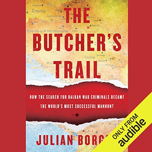 The Butcher's Trail audiobook cover art