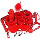NIMON Neue Plüsch Set Paar Sexy Spielzeug Gefüllte Peitschen Spezielle Bundled Binding Set Spielzeug Harness Restraint Kit SM Kit für Paare Erwachsene 10 STÜCKE Useful