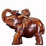 maniquíes Decoración de Elefante Duradero Resina, usada for la Sala de Entrada de la decoración.Tamaño: 15 cm de Longitud, Anchura de 9 cm, 12 cm de Altura (Color : Brass, Size : 15 * 9 * 12cm)