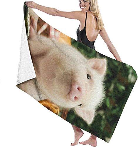 secado r/ápido piscina toalla Rosa cerdos adolescentes toalla de playa absorbente toalla de deporte ligera suave de grosor