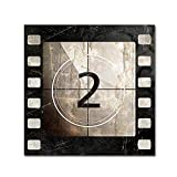 Vintage Countdown II by Color Bakery, 24x24-Inch Canvas Wall Art