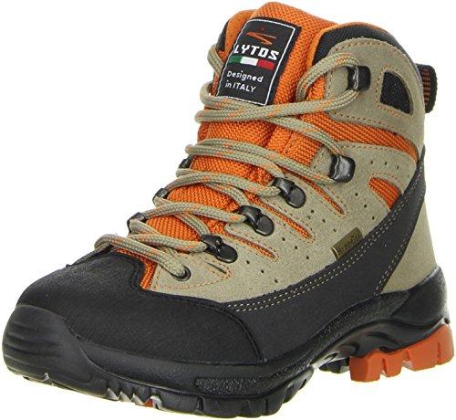 LYTOS Kinder Wanderschuhe Trekkingschuhe orange, Farbe:Orange, Größe:31