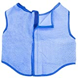 Crufts - Pet Cooling Vest Jacket, Cooling Coat for Dogs, Keep Pets Cool in Summer, Pet Cooler Vest, Blue, 1Pc, Sizes Extra Small to Extra Large (Medium - Large)
