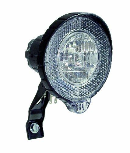 Büchel Scheinwerfer Secu-Town Halogen,StVZO zugelassen, mit Standlichtfunktion, ohne Schalter, schwarz, 50265