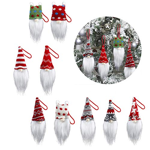 9 Pack Handmade Christmas Tree Ornaments Now $7.99