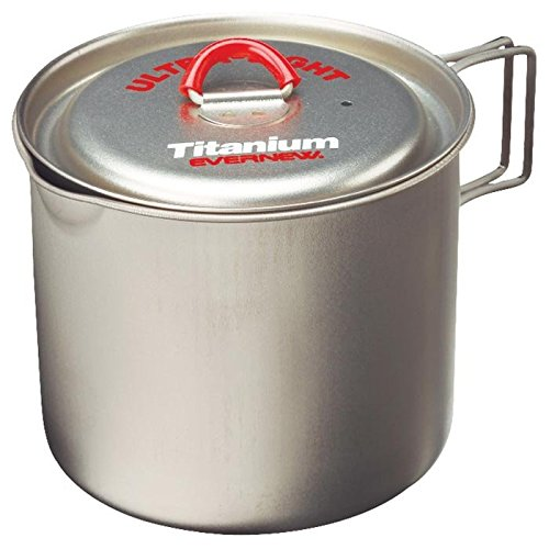 EVERNEW Titanium Tasse Topf, Unisex