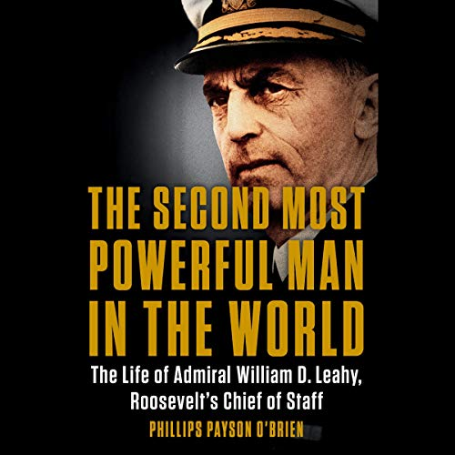The Second Most Powerful Man in the World audiobook cover art