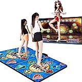 XTT Alfombra de Baile para Adultos Niños HD TV Computadora De Doble Uso Running Blanket Yoga Game Machine Máquina De Aprendizaje Calidad HD, Luz,Juegos De Baile Estilo Arcade