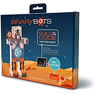 BinaryBots Dimm from Smart Toy Robot - Dimm is an educational robot who teaches kids to code while having fun the BBC Microbit