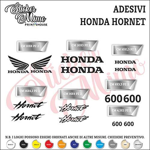 Original Honda-WING AILE CBR Réservoir Autocollant 8,5cm Rouge//Noir 85 mm