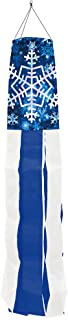 Briarwood Lane Let It Snow Snowflakes Winter Windsock Seasonal 50