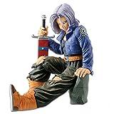 Dragon Ball Z Trunks Future Sword Sentado Pruple Hair Ver. Figura de acción de PVC Goku Trunks Super...
