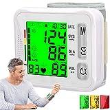 Atrilly Blood Pressure Monitor Wrist Blood Pressure Cuffs for Home Use,Wrist Bp Monitor Wrist Bp Cuff Automatic Digital Blood Pressure Machine,