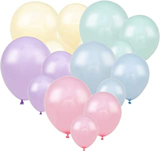 Pastel Rainbow Theme free SHIP birthday magical fantasy celebrate party decoration Set THREE with 8 Balloons
